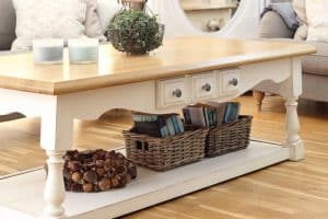 www.chalkingupsuccess.com coffee table makeover, Riviera Maison Inspired