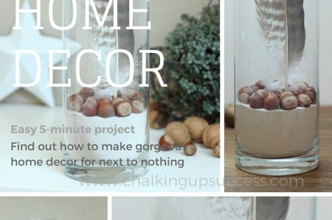 Easy 5-minute low budget home decor