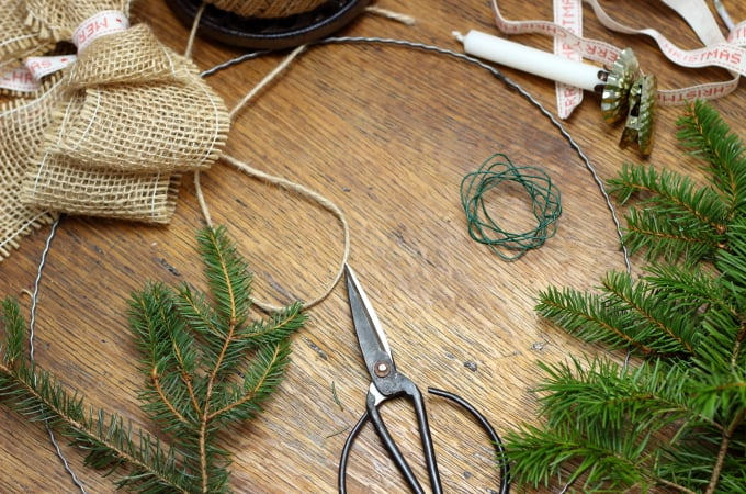 P How to create, gorgeous natural Christmas décor #naturalchristmas #naturalchristmasdecor #naturaldecorchristmas #natural