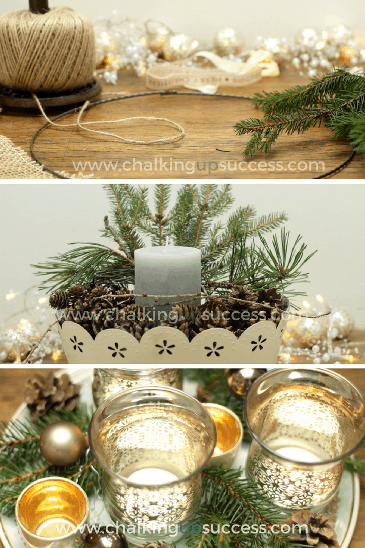 how to make natural christmas decor