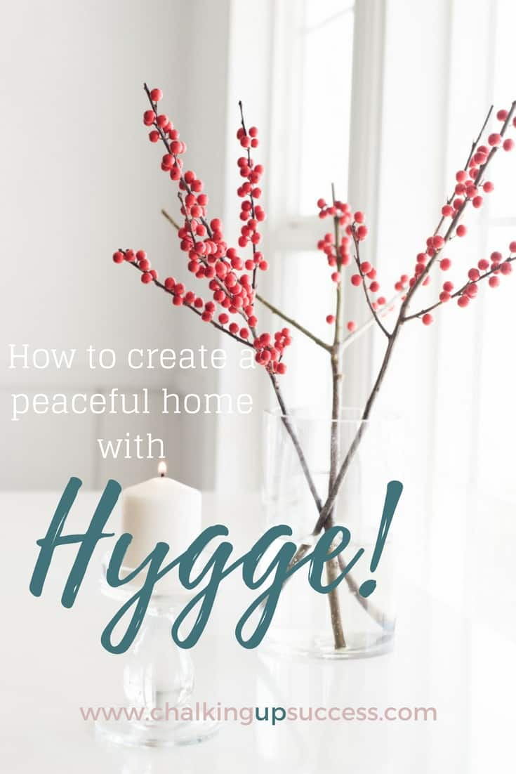 How to create a peaceful home with Hygge!