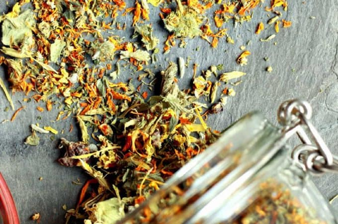 Immune boosting herbal tea – How to make it for free