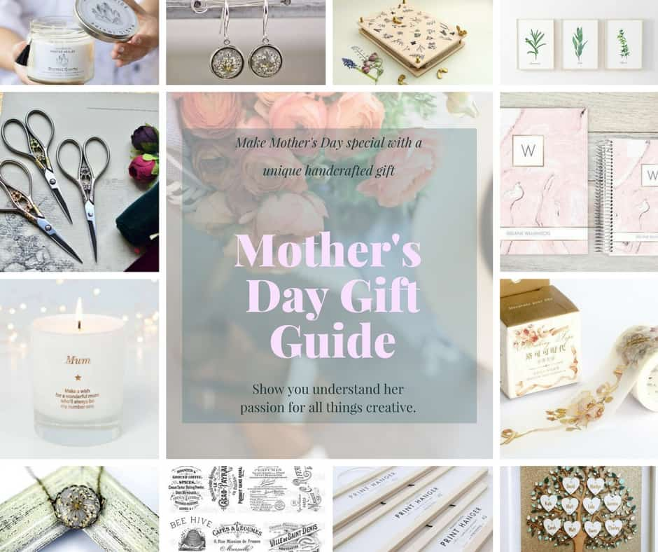 Inexpensive ideas for making Mother's Day special. Show your crafty Mama you understand her passion for all things creative with these beautifully crafted gifts from Etsy. #mothersday #motherdaygifts #giftsforcrafters #giftideasformothersday #uniquemothersdaygifts #giftsforher #inexpensivemothersdaygifts #cheapgiftsformothersday
