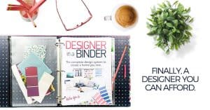 Interior Design to go! No more expensive mistakes – just gorgeous interiors! Designer in a Binder is a system with easy step by step instructions that will save you time and money.