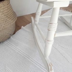 DIY Rocking chair makeover using Annie Sloan Chalk Paint