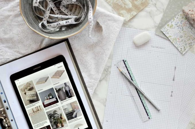 A mood board saves you time and money | How to make one