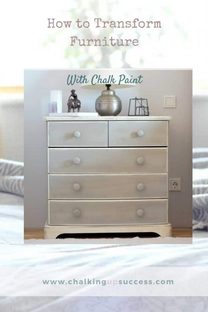 How To Transform Furniture With Chalk Paint Chalking Up Success