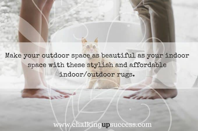 Beautiful outdoor rugs – get this year's 'it' accessory