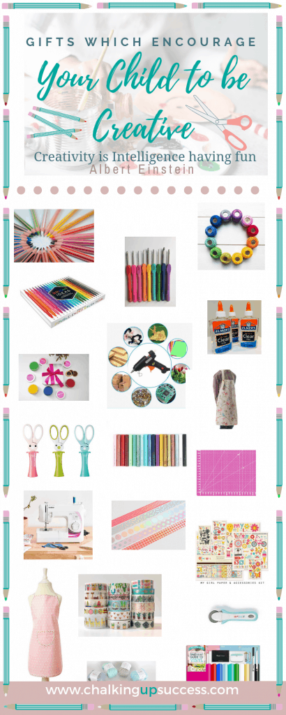 Creative activities advance your child's development in leaps and bounds and teaches them to think outside the box. Here are some of the best craft supplies your child will need to start. #giftsforkids #craftsupplies #craftingbasics #childdevelopment #giftguideskids #creativegiftguide
