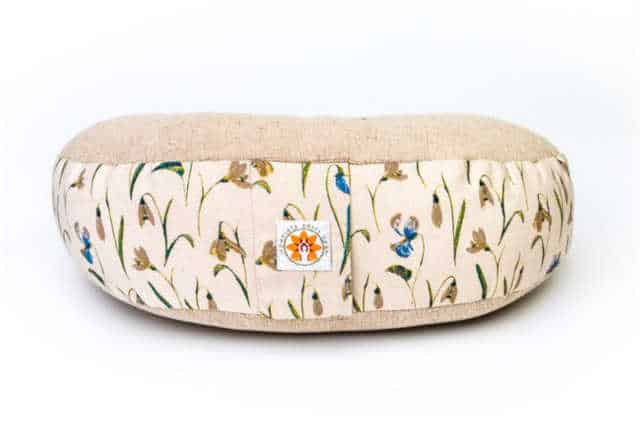Ideas for creative gifts she'll love and use that won't end up at Oxfam! Don't just give 'something' for the sake of giving. Here are some stylish eco friendly gift ideas that show you care about her AND the planet. Yoga/meditation cushion. Made from natural canvas but with a strip of cotton fabric printed with small flowers sewn around the edge.