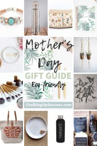 """Pinterest Pin from chalking up success dot com for the post """"How to give a thoughtful gift instead of giving 'something'"""""""