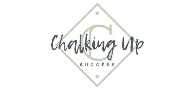 Chalking Up Success! logo