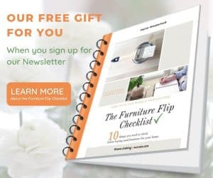 Free eBook 'The Furniture Flip Checklist' click the image to learn more about it!