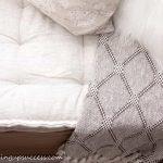 A French Tufted Mattress Cushion