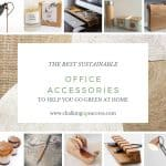 Here are some gorgeous accessories you can buy for your workplace, to help you reduce plastic in your home and create an eco-friendly office space. #ecofriendlydecor #ecofriendlyproducts #ecofriendlygifts #ecofriendlyliving #ecofriendlyideas #ecofriendlytips #ecofriendly #sustainability #sustainableliving #zerowaste #ecofriendly #office #officesetup #ecofriendlyofficesupplies #greenoffice #ecofriendlyhome #homeofficeideas #homeofficemakeover #sustainablelivingideas