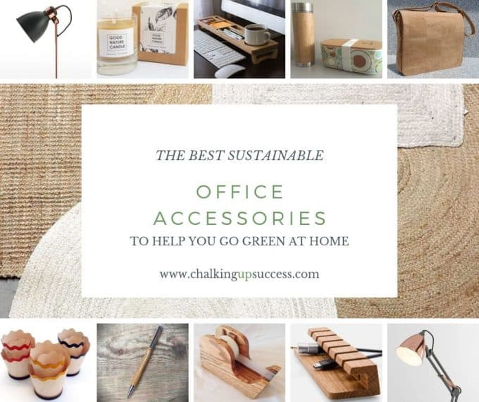 If you'd like to know how to make your office more sustainable here are some of the gorgeous accessories that you can buy for your desk and workplace today, to help you reduce plastic in your home and create an eco-friendly office space. #ecofriendlydecor #ecofriendlyproducts #ecofriendlygifts #ecofriendlyliving #ecofriendlyideas #ecofriendlytips #ecofriendly  #sustainability #sustainableliving #zerowaste #ecofriendly #office #officesetup  #ecofriendlyofficesupplies  #greenoffice #ecofriendlyhome #homeofficeideas #homeofficemakeover #sustainablelivingideas