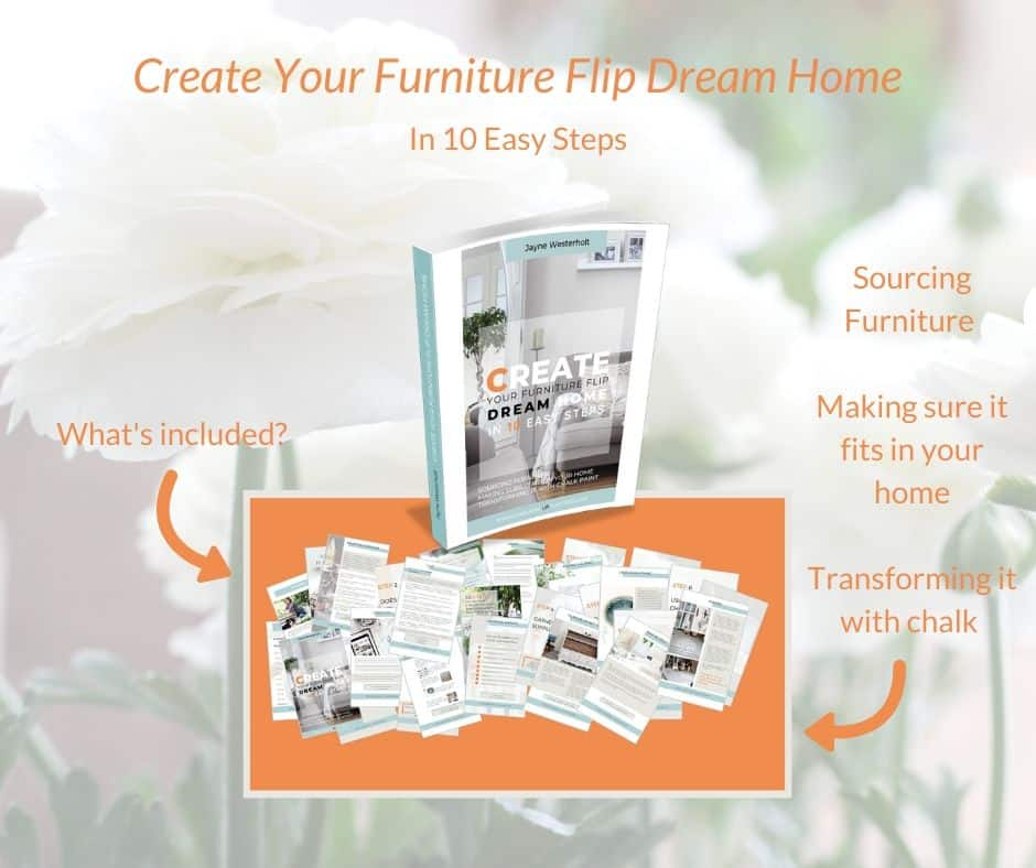 Contents of the e-book 'Create your furniture flip dream home in 10 easy steps'