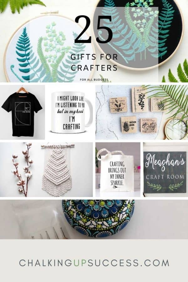 25 gifts for crafters ,for all budgets.