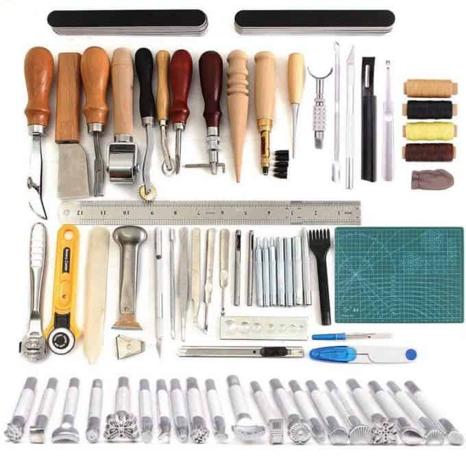 25 gifts for crafters - Leather tool kit