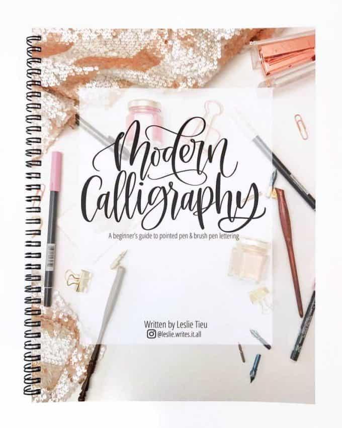 Modern calligraphy kit.