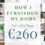 Upcycle & furnish your home for under €260. Includes DIY before and after makeovers easy step-by-step tutorials and projects suitable for beginners.