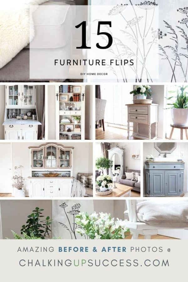 15 Furniture flips on a budget - upcylcle furniture with chalk paint