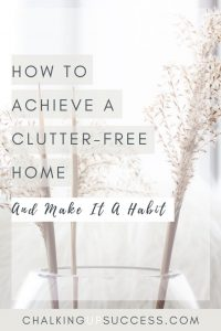 Declutter your home Lagom style - lose the mess without the stress! Motivation and habits to make sure you stay clutter free long-term.