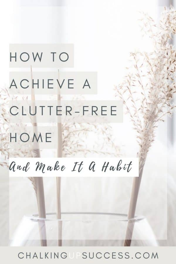 Declutter your home Lagom style - lose the mess without the stress! Motivation and habits to make sure you stay clutter-free long-term.