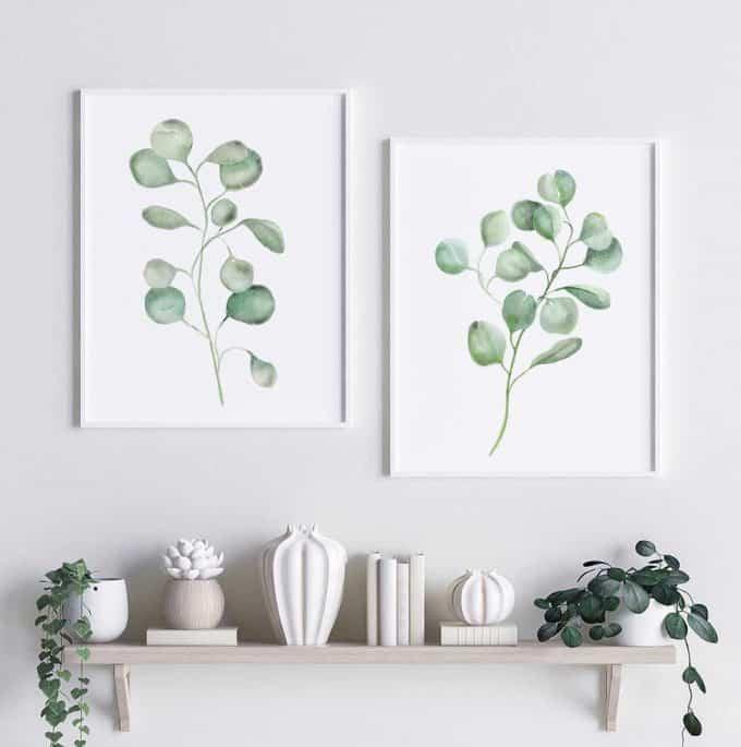 Greenery - affordable botanical art