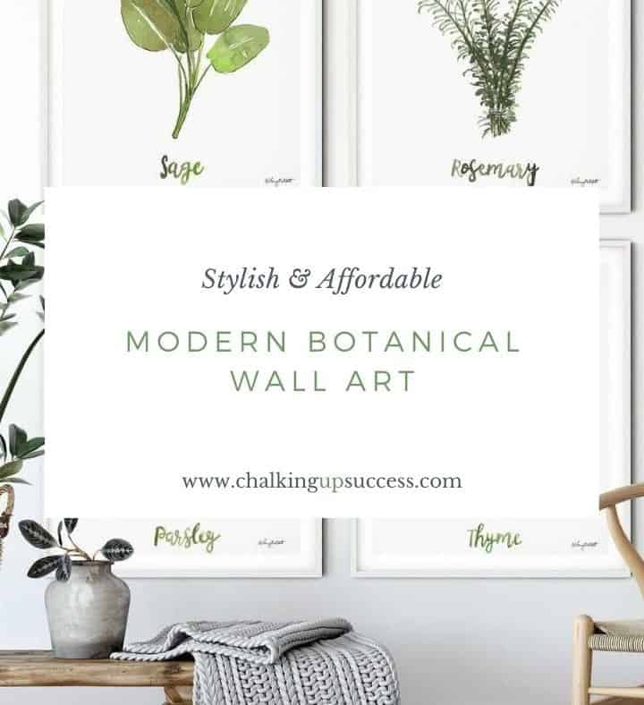 affordable botanical art