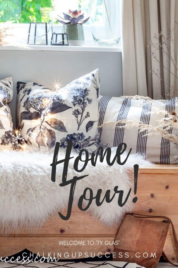 Welcome to 'Ty Glas' an autumn home tour with chalkingupsuccess dot com