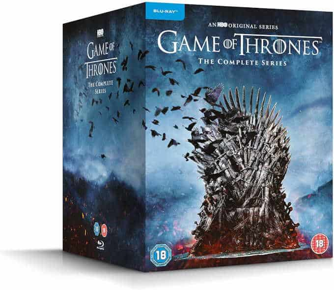 Game of Thrones the complete series boxed set
