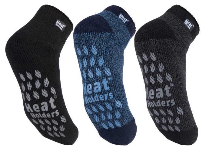 3 pairs of Heat Holders socks