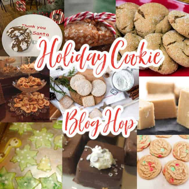 Holiday cookie blog hop.