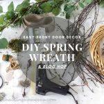 Share on Facebook - DIY spring wreath