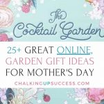 Pin this post to Pinterest - 25+ Great online garden gift ideas for Mother's Day