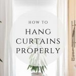 Pint this image to your Pinterest board - How to hang curtains properly