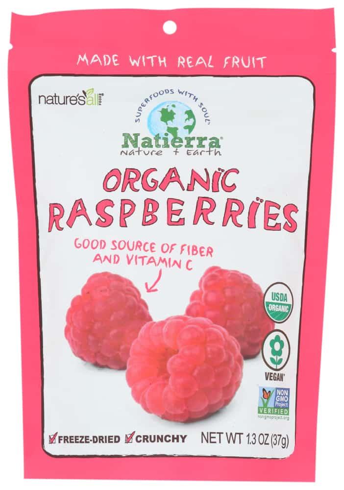 Organic Freeze-Dried Raspberries